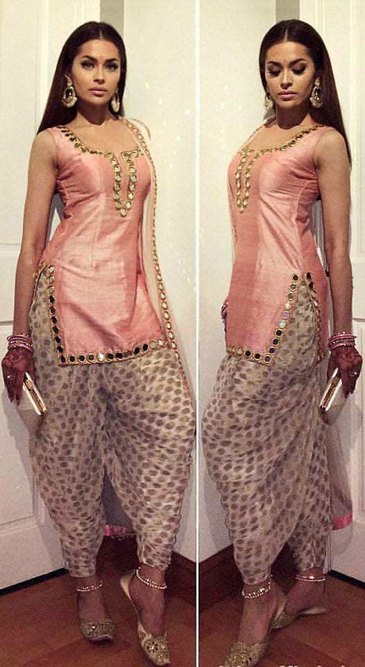 New Salwar Suit Neck Designs
