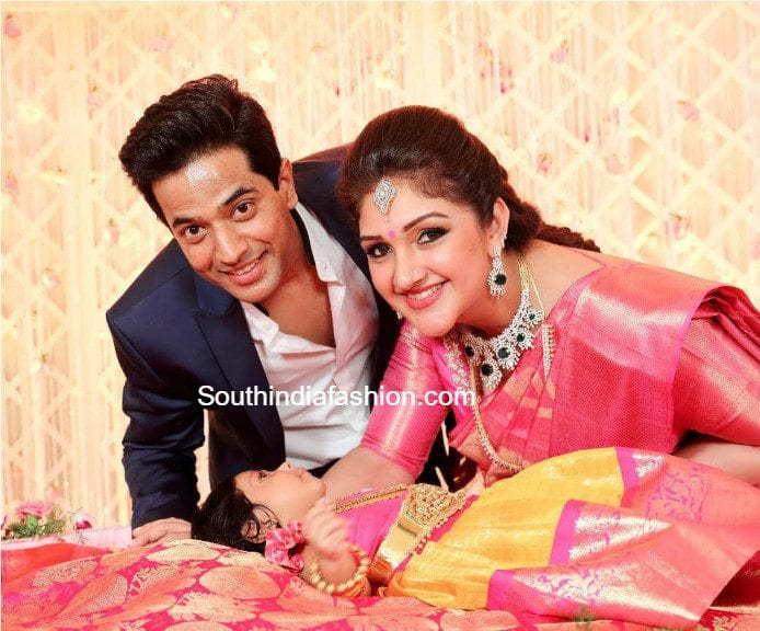 Sridevi Vijaykumar Daughter Naming And Cradle Ceremony