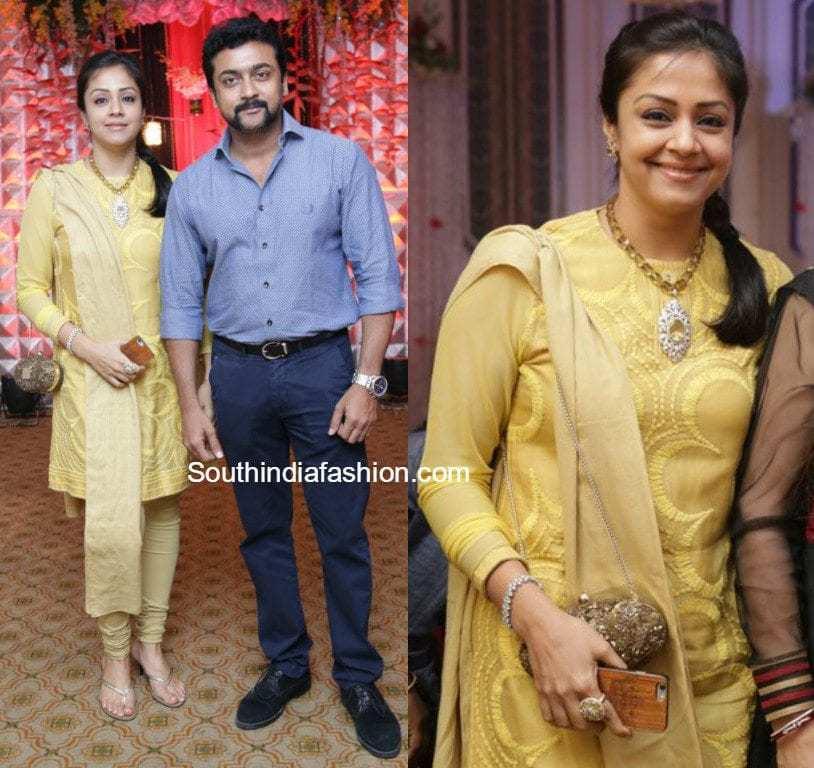 Surya And Jyothika At Rajkumar & Sripriya's 25th Wedding