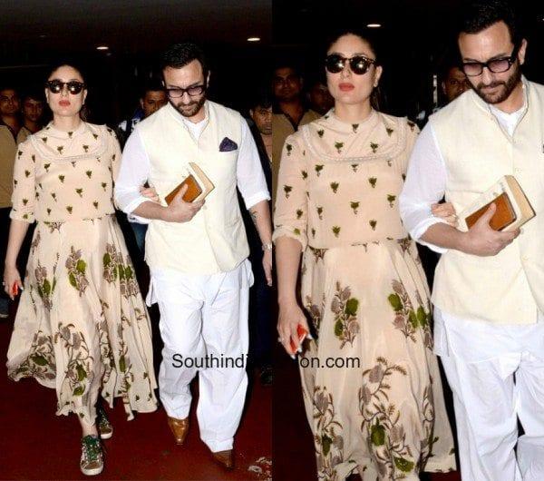 Kareena Kapoors Airport Style