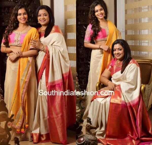 poornima_bhagyaraj_keerthi_traditional_outfits