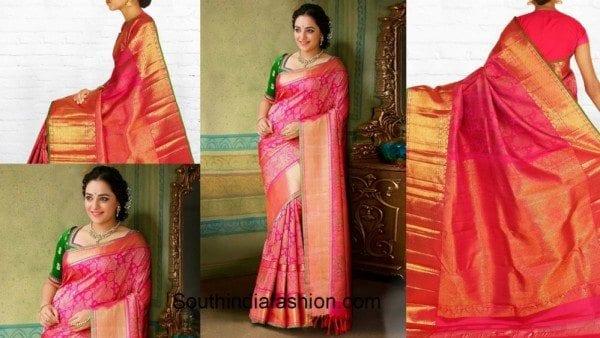 The Beautiful Samudrika Silk Saree Collection from Pothys