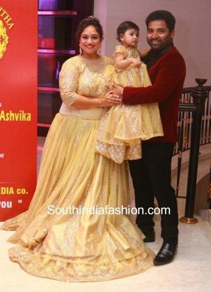 shobi-paulraj-daughter-syamantakamani-ashvika-birthday-celebration-2