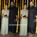 Anita Hassanandini and her husband Rohit Reddy at Ekta Kapoor's Diwali Bash
