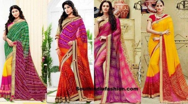 festive-bandhani-sarees