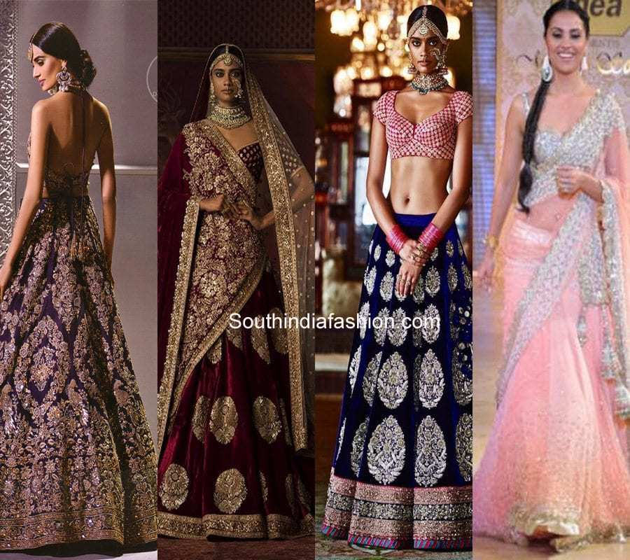 a0fa37da2bc 5 Lehenga Colours For Brides With Duskier Complexions – South India ...