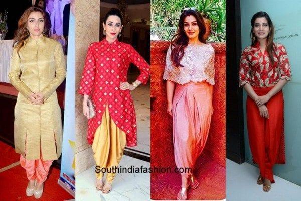 bollywood-actress-dhoti-pants