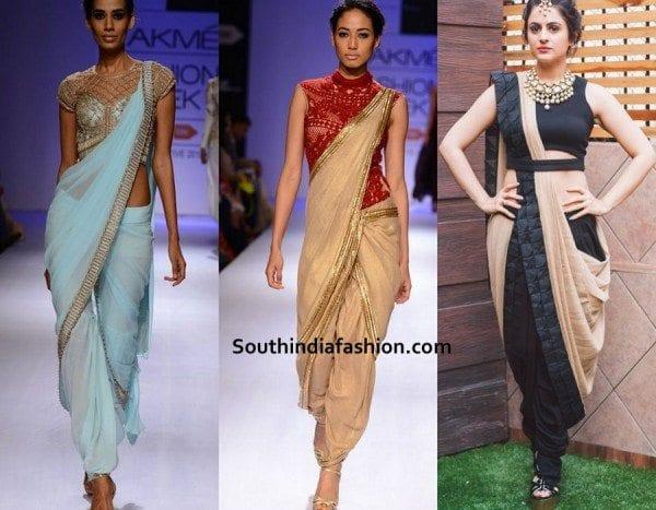 saree-dhoti-style