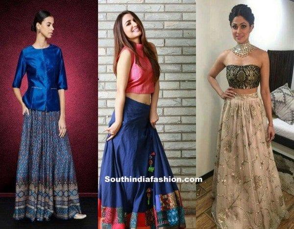 reuse-old-saree-convert-them-into-skirts