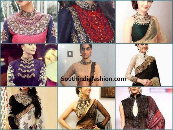 high-neck-collar-blouse