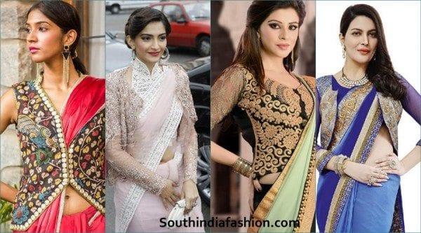 saree-blouse-jacket-style