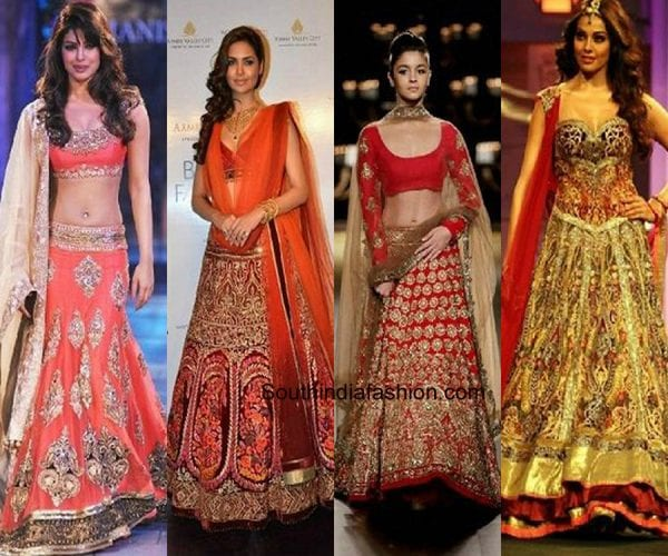 5 Lehenga Colours For Brides With Duskier Complexions
