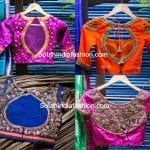 "Bridal Saree Blouses and Lehengas by ""Mantra -The Design Studio"""