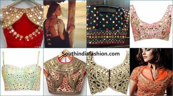 mirror-work-bridal-blouse-designs
