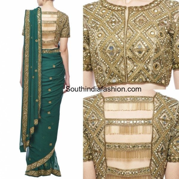 mirror_work_saree_blouse_designs