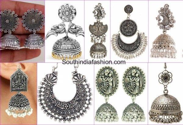 oxidised_german_silver_earrings_online