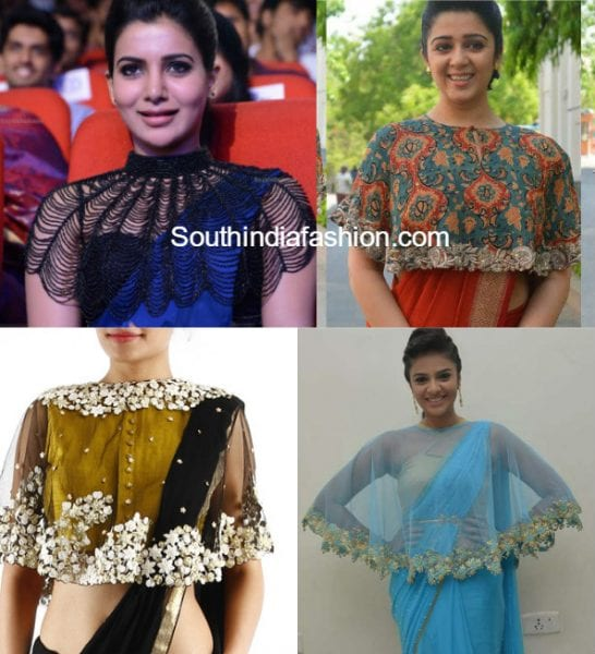 saree_with_cape_blouse