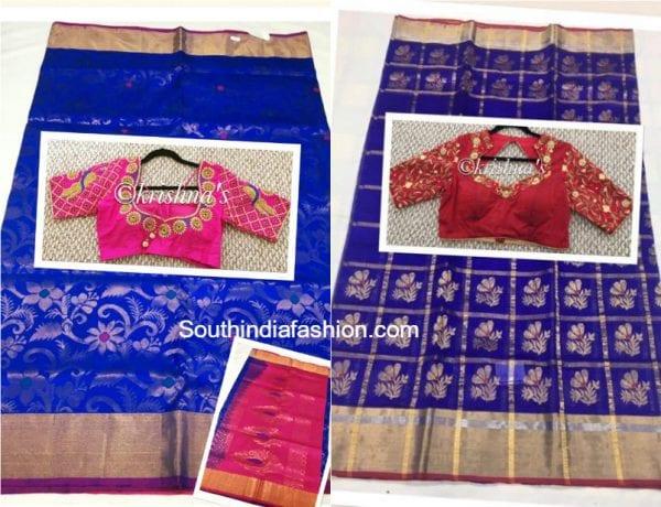 Silk Sarees and Designer Blouses