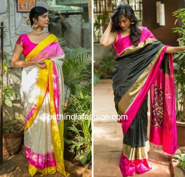 pochampally sarees and handloom blouses by  u0026 39 house of blouse u0026 39