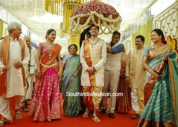 vasundhara_diamond_roof_son_ashish_marriage_photos