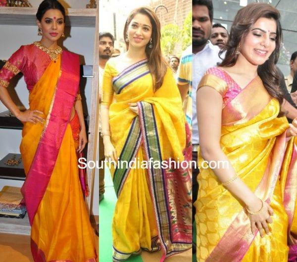 Some Classic Combo Kanjeevaram sarees
