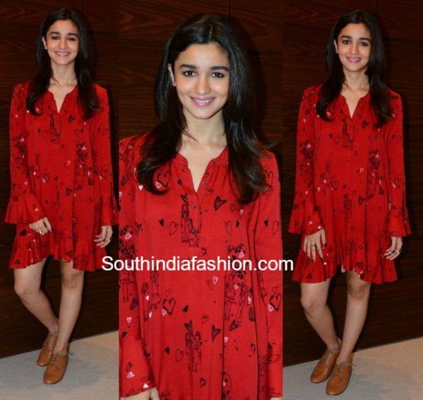 alia-bhatt-red-dress-dear-zindagi-promotions