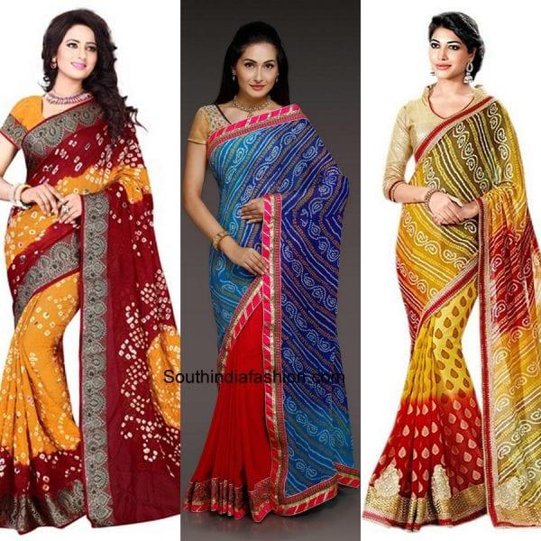 bandhani-sarees