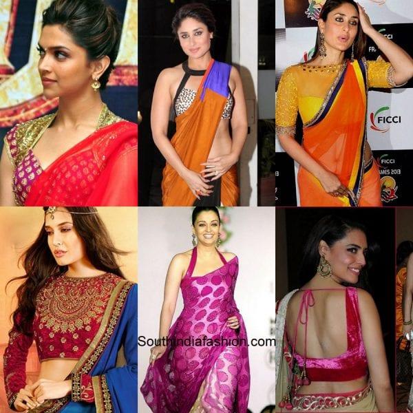 celebrity-saree-blouse-designs
