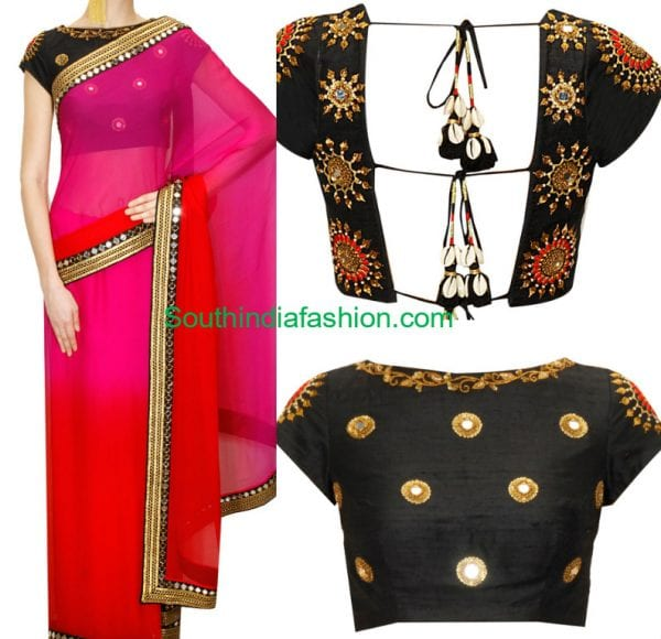 designer-saree-zardsoi-blouse-tisha-saksena