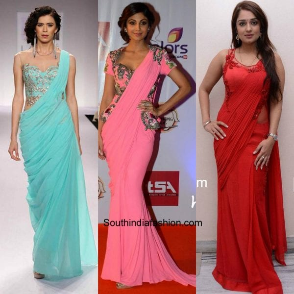 gown-style-sarees-different-ways-to-style-saree