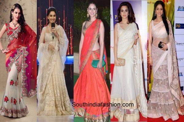 lehenga-style-sarees-different-ways-to-style-saree