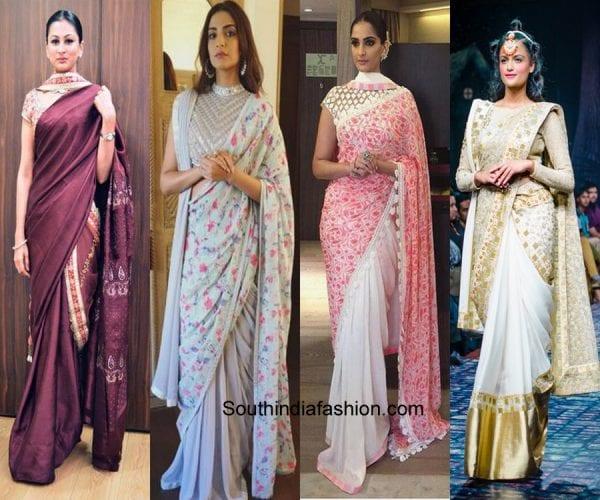 double-pallu-sarees-different-ways-to-style-saree