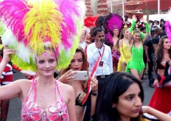 gali-janardhan-daughter-wedding-brazilian-dancers