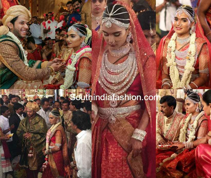 Gali Janardhan Reddy Daughter Brahmani's Engagement – South