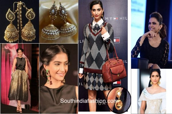 ethnic-earrings-with-western-dresses