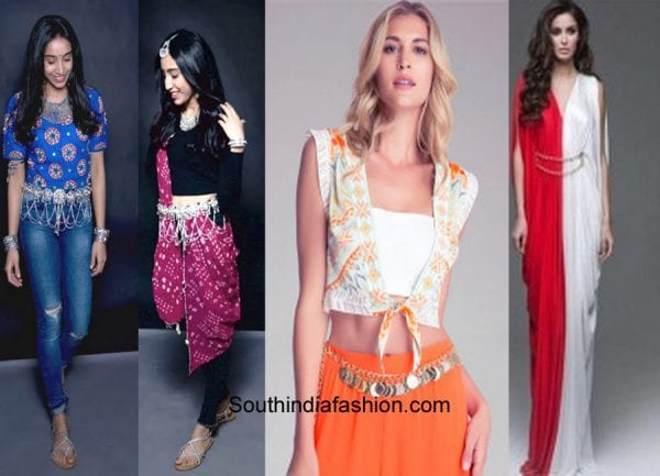 ideas-to-style-ethnic-jewelry-with-western-dresses