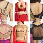 Satya Paul Saree Blouse Designs