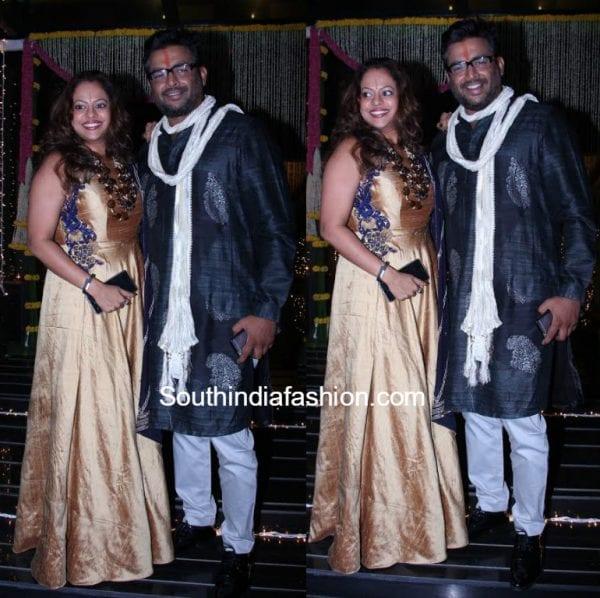madahvan-with-wife-sarita-at-diwali-party-2016
