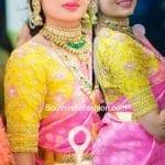 Maggam Work Blouse Design for Wedding Silk Sarees