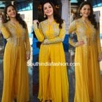 Mehreen in a palazzo suit