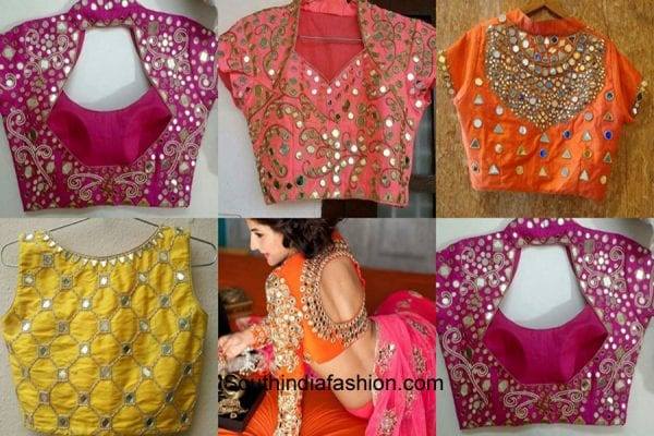 Latest Wedding Blouse Designs Collection 2016