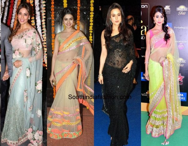 tips-to-wear-net-saree