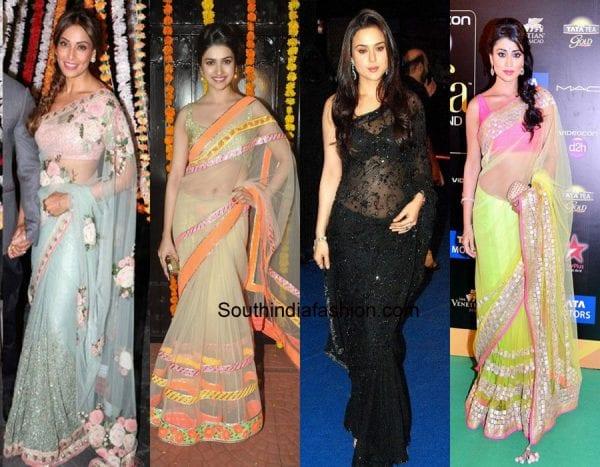 tips-to-wear-net-saree