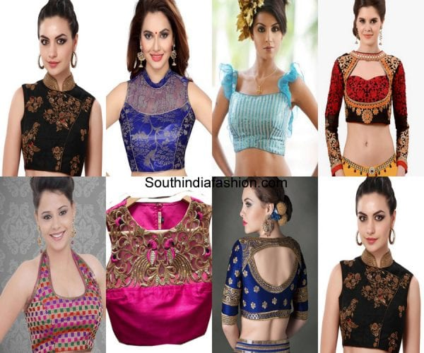 designer-blouses-different-ways-to-style-saree