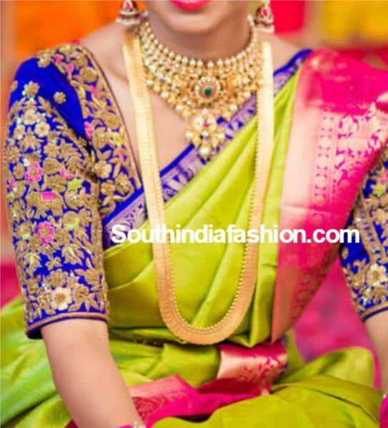 zari-embroidered-maggam-work-blouse