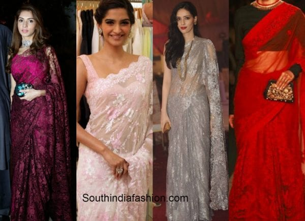 lace_saree_options_new_bride