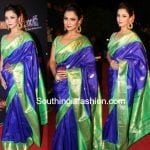 Adaa Khan in a traditional saree