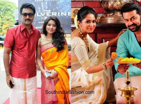 couple_style_dhoti_saree