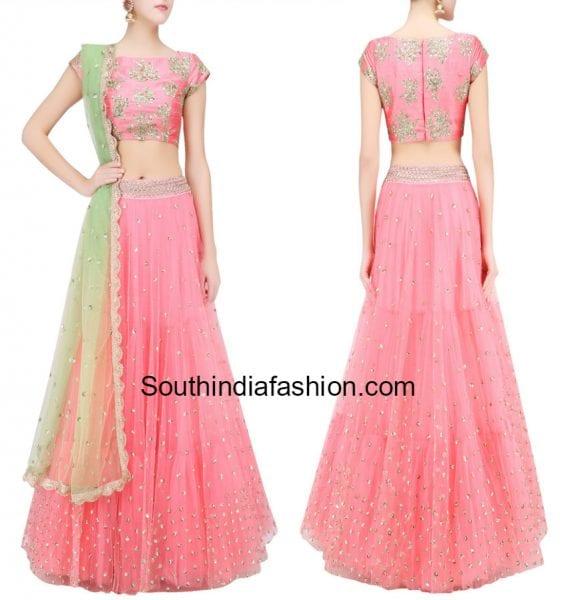 designer-half-sarees-for-engagement