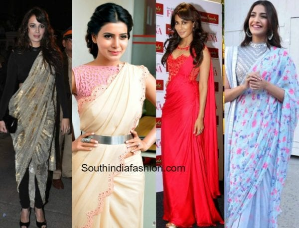 different-ways-to-style-saree